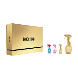 Coffret MOSCHINO GOLD FRESH COUTURE + Miniaturas