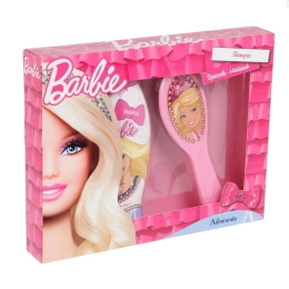 BARBIE SHAMPOO 250ML+HAIRBRUSH