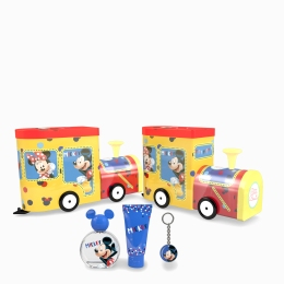 Disney Mickey Mouse LOCO TRAIN EDT 50+SG 75+PORTA CHAVES