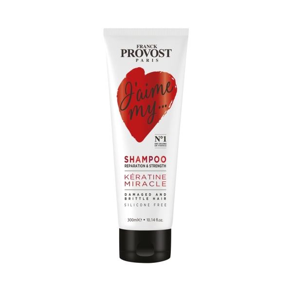 Franck Provost KÉRATINE MIRACLE Shampoo Reparation & Strenght 300ml 112